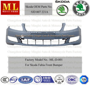Front Auto Bumper for Skoda Fabia From 2007 (1J0 807 221D) pictures & photos