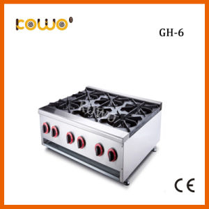 China Heavy Duty Kitchen 6 Burners