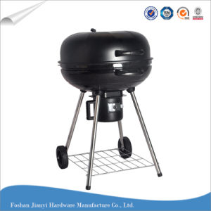 Charcoal Kettel Grill Outdoor Barbecue Grill with Ash Catcher