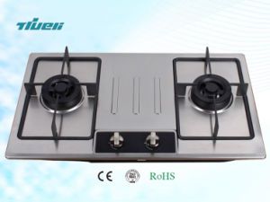 Good Quality 2 Burners Stainless Steel Gas Hob