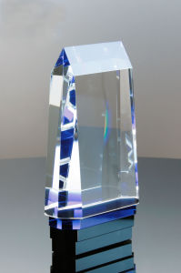 Cerulean Crystal Tower Award pictures & photos