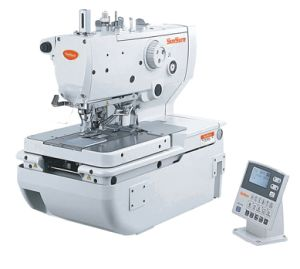 High Speed Computer Etelet Button Holer Sewing Machine pictures & photos