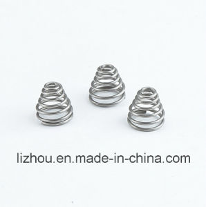 Conical Spring for Auto Turbocharger System