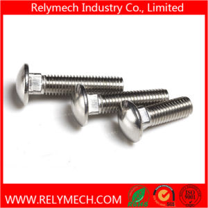 Stainless Steel Carriage Bolt Mushroom Head Square Neck Bolt pictures & photos