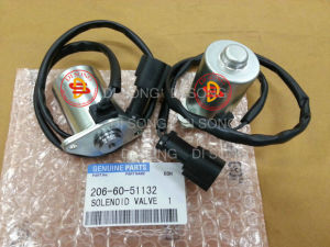 Komatsu Excavator Spare Parts, Engine Parts, Solenoid Valve (206-60-51132) pictures & photos