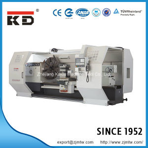 Economical Large Sized Flat Bed CNC Lathe Ck61160e/1500 pictures & photos