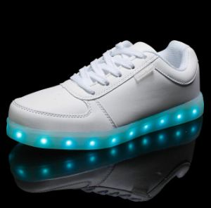 New Product PU LED Shoe Sole pictures & photos