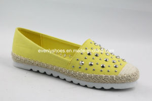 Cute Ladies Comfort Shoes with Sequin Decoration pictures & photos