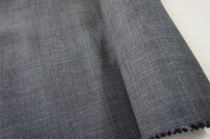 Plaid Wool Fabric for Suit