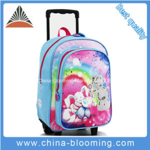 Kids Children Roller Backpack School Trolley Bag pictures & photos