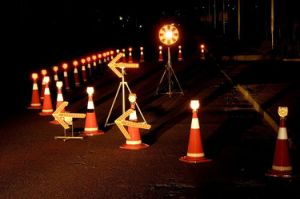 360 Degree Rotation Traffic LED Arrow Indicator Light pictures & photos