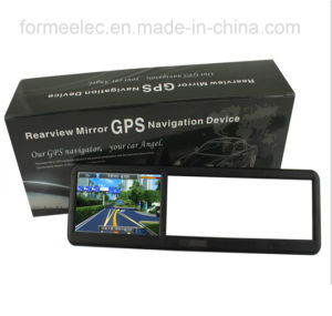 4.3 Inch Car Rearview Mirror GPS Navigator Vehicle Navigation pictures & photos