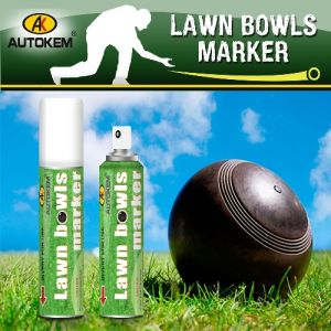 Lawn Bowl Spray Marker, Spray Chalk, Removable Chalk Spray pictures & photos