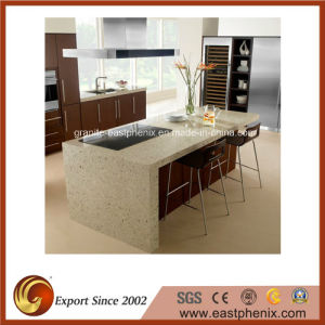 Wholesale Beige Quartz Stone Kitchen Countertop