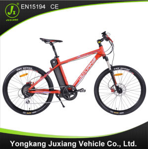 26 Inch Aluminum Alloy Frame Electric Mountain Bike pictures & photos