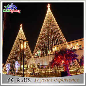 square decoration wholesale outdoor led artificial christmas tree light