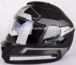 ECE, DOT Approved Double Lens Full Face Motorcycle Helmet