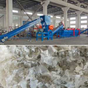 PE PP Waste Plastic Film Recycling Washing Drying Production Line