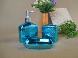 Ceramic Electroplating Bathroom Set pictures & photos