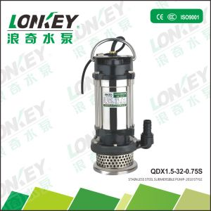 Qdx Submersible Pump, Clean Water Electric Submersible Pump, 1HP Irrigation Water Pump pictures & photos
