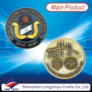 Commemorative Custom Design Bronze Metal Coin Round Medallion (LZY1300038) pictures & photos