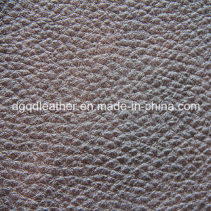 Embossed Two-Tone PU Artificial Leather (QDL-52150) pictures & photos