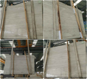 Grey White Serpeggiante Marble Tile and Slab