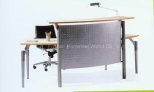 Top Quality Competitive Price Cheap Small Reception Desk (LT-E403) pictures & photos