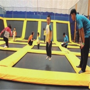 Fantasic High Quality Big Gym Indoor Trampoline