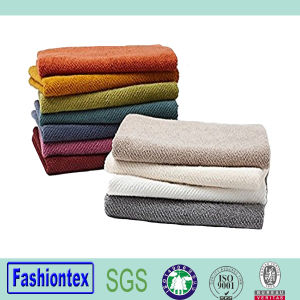 Organic Cotton Air Weight Hand Towels Hair Towels pictures & photos