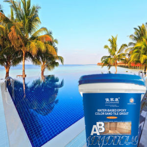 Epoxy Resin Grout Cement for Hot Spring Swimming Pool Mosaic Ceramic Tile  Repair