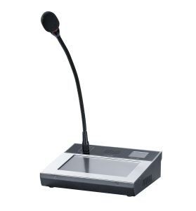 7′′ Touch Screen Remote Paging Microphone for PA System