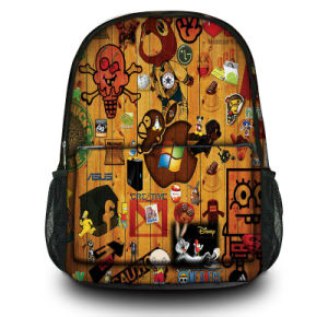 Wholesale OEM Custom Canvas Backpack Shoulder Laptop Bags Wtih Side Pockerts pictures & photos