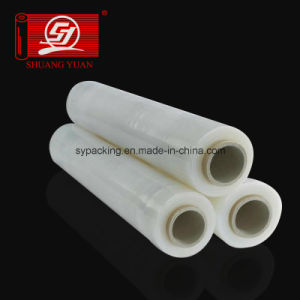 Export Grade Virgin Material Linerlow Density PE Stretch Wrap Film Clear Film pictures & photos