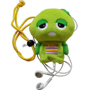 Plush Cartoon Phone Headset Plug Screen Wiper Keychains