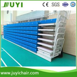 Electrical Retractable Grandstand Seating System Manufacture Telescopic Tribune Bleachers Jy-750 pictures & photos