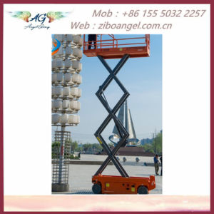 Factory Price AC Power Inmoveable 230kg Motorcycle Electric Double Scissor  Lift Table Widely Used in Warehouse/Factory