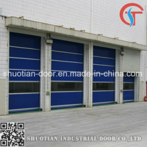 Industrial Fast Speed Rolling up High Speed Roll up Door (ST-001) pictures & photos