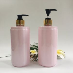 500ml Pet Plastic Bottle for Cosmetic Shampoo Lotion pictures & photos