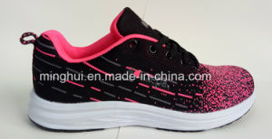 Five Colors Unisex Shoes Fly Knit Material Sport Shoes Footwear