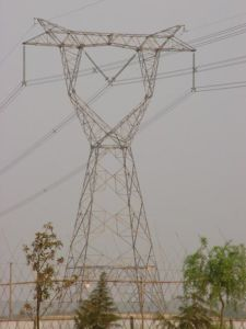 10-1000kv Carbon Steel Transmission Line Iron Tower