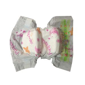 Grade a Diapers with Baby Diaper Materials Spunlace Nonwoven