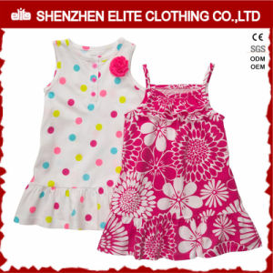 Toddler Girls Summer Sets Baby Girls Party Wear Dress (ELTBCI-11) pictures & photos