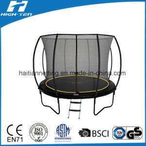 Lantern Trampoline with Top Fiberglass Pole