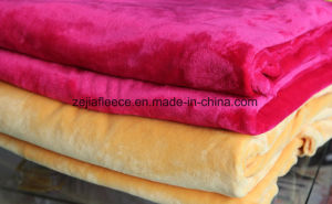 Dyed Double-Sided Flannel Fleece Pajama Home Clothes Fabrics, pictures & photos