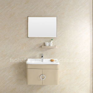 Modern Stainless Steel Bathroom Mirror Vanity Cabinet with Shelf pictures & photos
