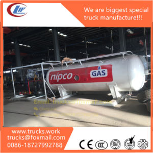 Middle Pressure 1.77MPa Liquefied Gas Skid Tank Station pictures & photos