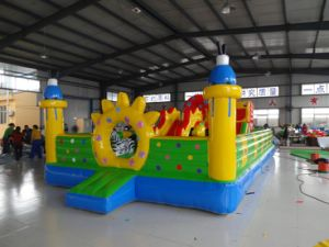 Excellent and Cheap Inflatable Castle with Ce Blower (HL-102)