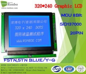 320X240 Graphic LCD Display, MCU 8bit, Sid137000, 20pin, COB Stn LCM Screen pictures & photos
