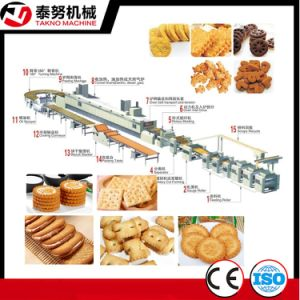 Export Full Auto Biscuit Production Machine with Tunnel Oven